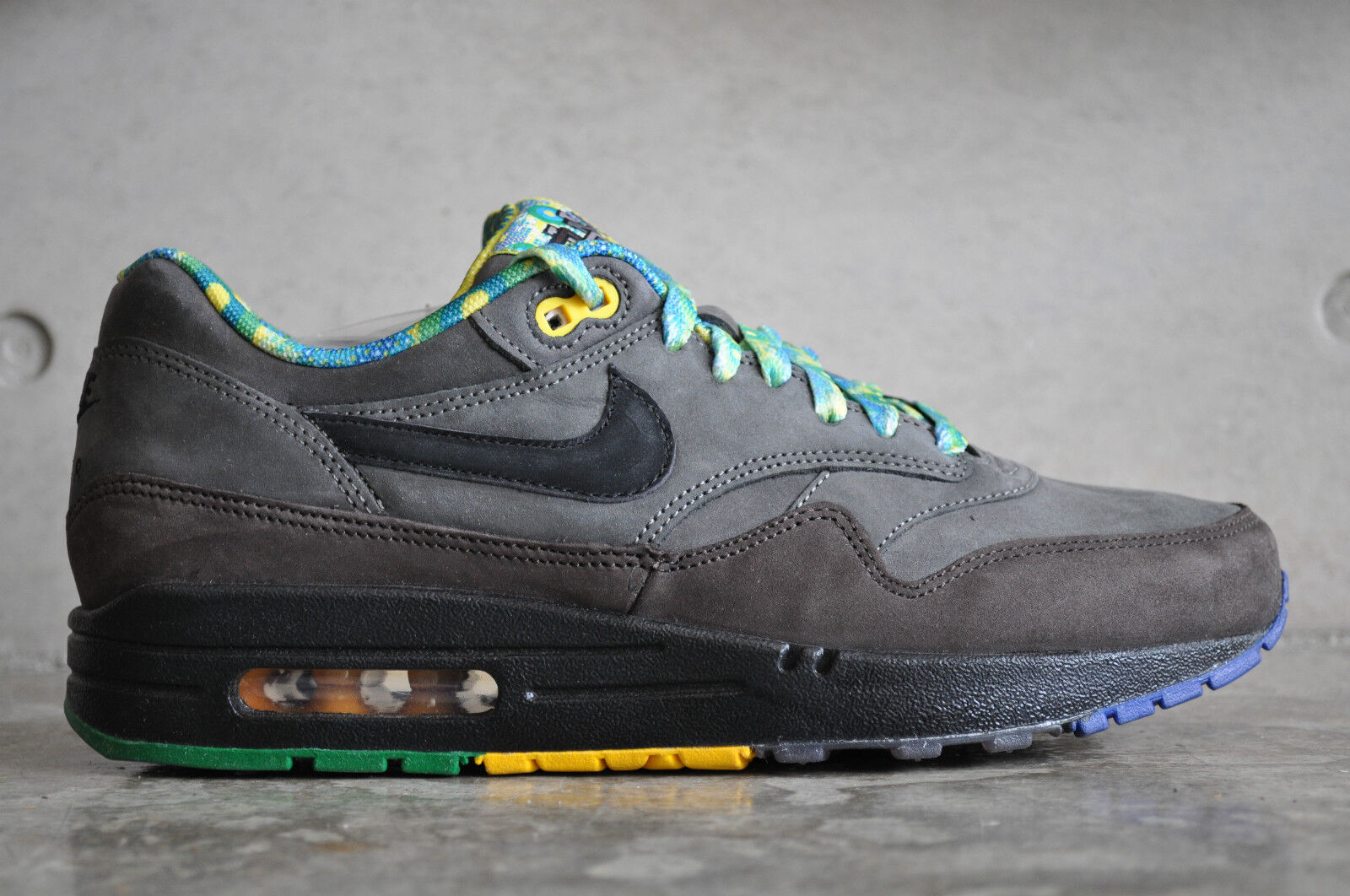 Nike Air Max 1 BHM Noir History Month - Midnight Fog/Noir