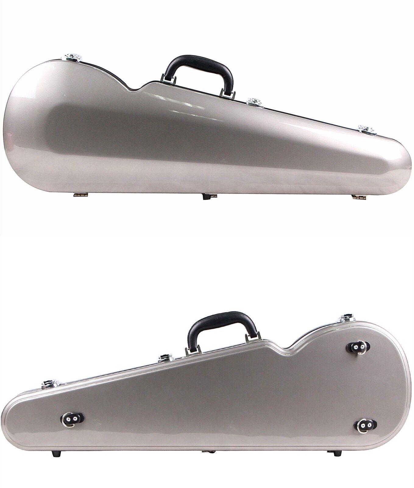 New Quality Fiberglass Violin Case 1 4 storlek, Same Day Shipping,US Seller
