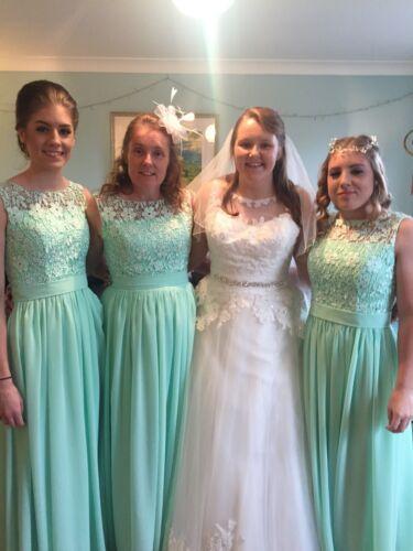 Mint Green Bridesmaid// Prom// Evening Dresses