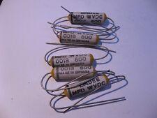Banke Ceramic Shell Capacitor 0018uf 600vdc 00018 Nos Qty 5