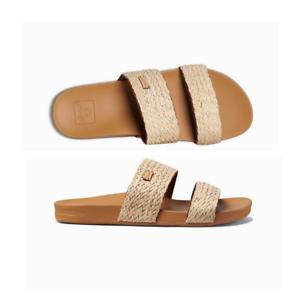 Womens Reef Cushion Vista Braid Vintage Sandal Flip Flop