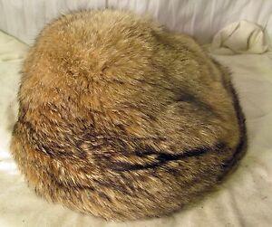 Mink antique fur hat from Europe
