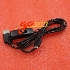 1.5m Micro USB Power Supply Charger Cable Wire ON//OFF Switch NiJB