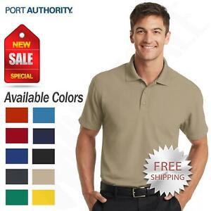 Port Authority Mens Dri-Fit Polo Dry Zone Grid Polo Golf Shirt K572