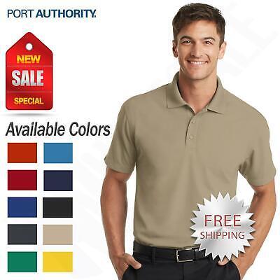 Port Authority K572 Mens Dry Zone Grid Polo Tan