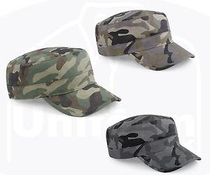 Image is loading Beechfield-Adults-Camouflage-Army-Hat-Baseball-Peak-Camo- 9d7746cf085