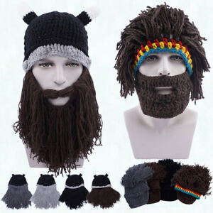 Image is loading Unisex-Mens-Womens-Hobo-Knitted-Face-Warmer-Winter- f4a047c7e7fe
