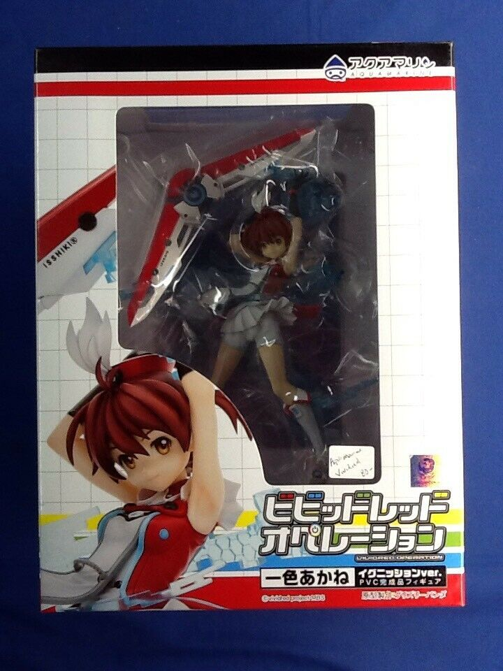 Aquamarine Vividrot Operation Isshiki Akane Ignition ver. 1 8 Figure