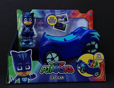 DISNEY Junior PJ MASKS Vehicle Set CATBOY and CAT-CAR In Package NEW