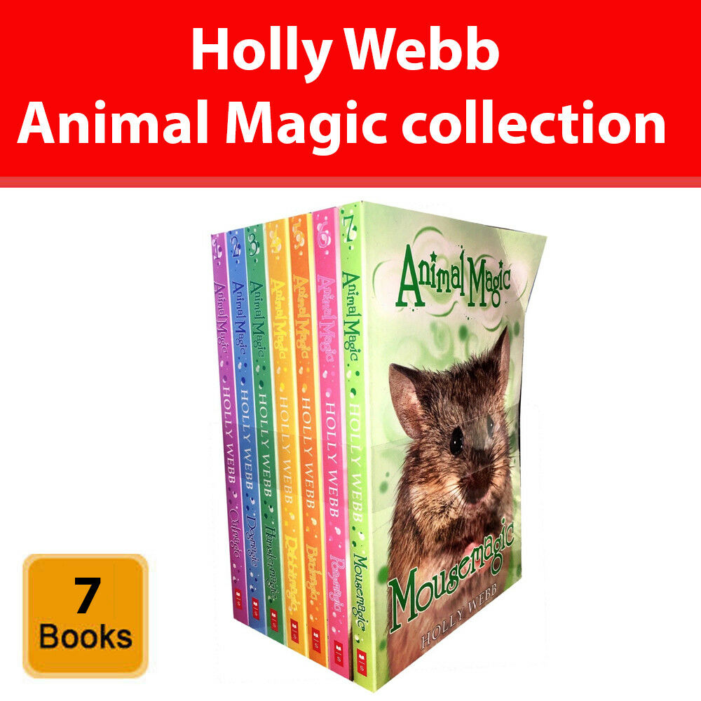 0Megle holly webb animal magic story series 7 books collection set pack 8 -12  years new