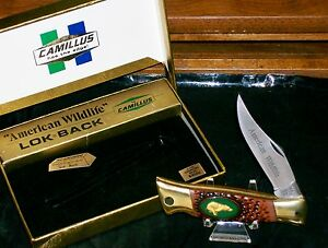 Camillus USA #11 Lockback Knife American Wildlife