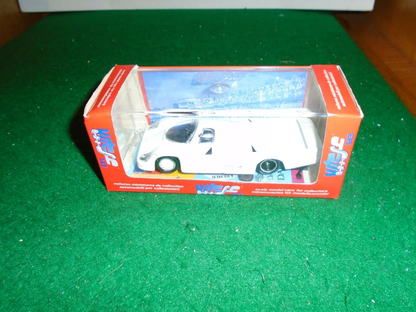 Voitures Miniatures 1984 Le mans Porsche 956 Not Decorated in 1 43 scale