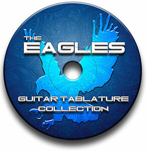 THE EAGLES ROCK GUITAR TAB TABLATURE SONG BOOK ANTHOLOGY SOFTWARE CD