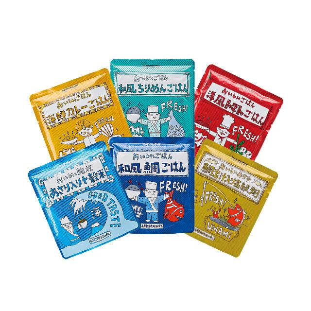 Emergency Emergency Emergency Long-term storage rice 6 Sets, Disaster prevention foods  F/S JAPAN 1ac5b5