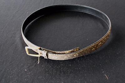 Vintage Deadstock 607ms Lucertola Pelle Cintura 81.3cm Girovita 3.2cm Larghezza Avere Uno Stile Nazionale Unico