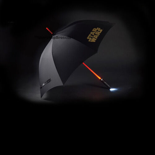 STAR WARS Umbrella Lightsaber with Light Up Function Beast Kingdom