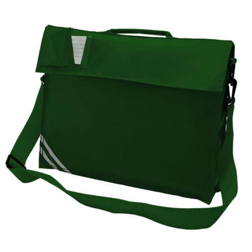 Kids Infant Junior Premium Classic School Book Bag With Strap Holdall