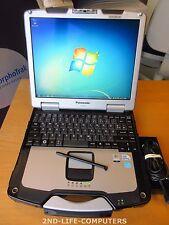 "PANASONIC CF-30 MK3 13,3"" Rugged Win7 Toughbook Touchscreen C2D 1,6Ghz 4GB 160GB"