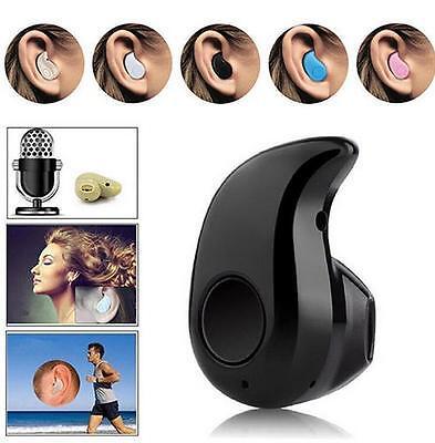 Mini Bluetooth 4.0 Wireless Headset Stereo In-Ear Headset Headphone Earphone FS