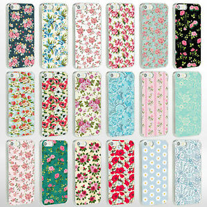 Vintage-Floral-Flower-Shabby-Chic-Phone-Case-Cover-for-iPhone-Range