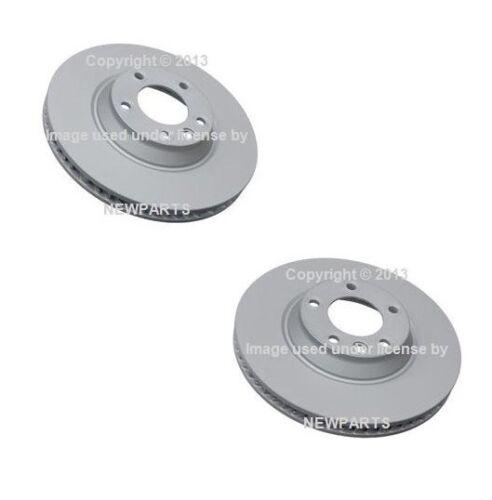 For Audi Q7 Volkswagen Touareg Front Left /& Right Brake Discs ATE COATED