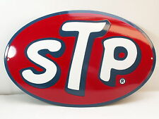 STP Benzin, Öl Emailschild Emaille Schild enamel 50 x 33 cm Enamel sign