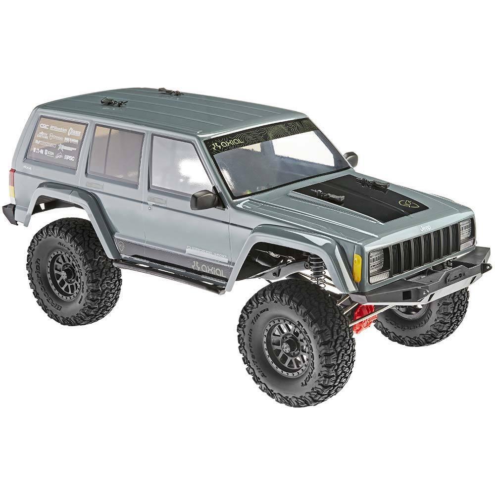 1 10 SCX10 II Jeep Cherokee 4x4 listo para correr por axial AX90047 AXID9047