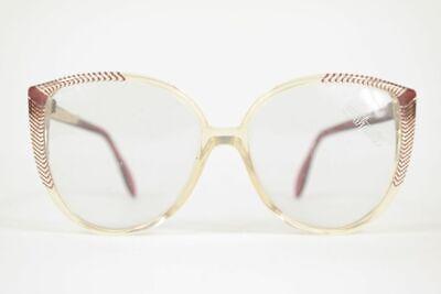 Accurato Vintage Silhouette Mod 1044 Col 2529 54 [] 14 140 Trasparente Rosso Circa Occhiali Nos- Materiale Selezionato