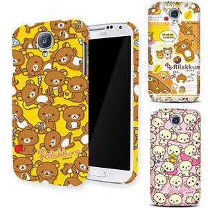 quality design 90eec 89c74 Details about Genuine Rilakkuma Hard Case iPhone SE Case iPhone 5/5S Case 4  Types Mobile Case