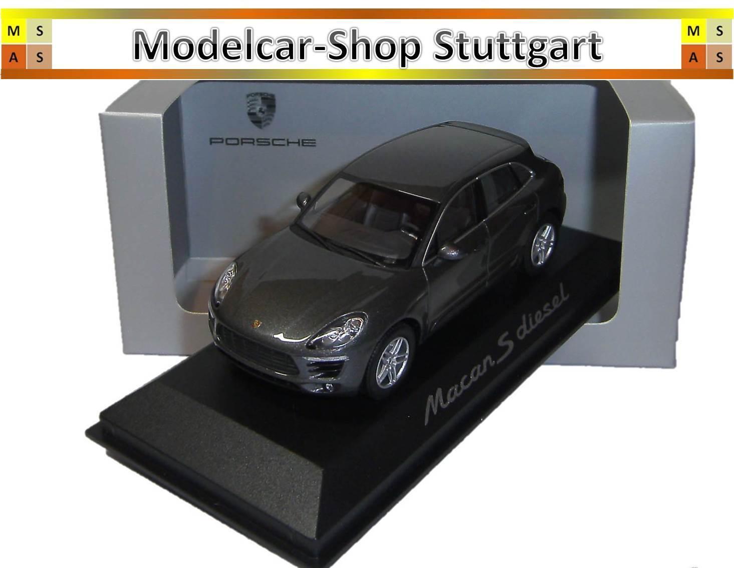 Porsche MACAN S Diesel - Minichamps 1 43 - WAP0201510E - Nip