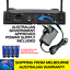 PROFESSIONAL-UHF-WIRELESS-MICROPHONES-WITH-LED-DISPLAY-amp-CASE-SET-OF-TWO