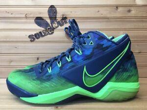2014-Nike-Zoom-Field-General-sz-8-Russell-Wilson-Seattle-Seahawks-Blue-Green