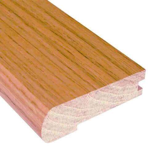 78 in Hardwood Wood Stainable Stair Nose Molding Unfinished Oak 3//4 in x 3 in