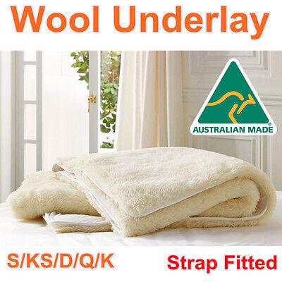 Baby NEVER USED AUSTRALIAN MADE Minijumbuk Wool Blanket//Underlay lambswool
