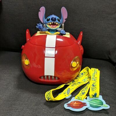 Tokyo Disney Resort Stitch Space Ship Popcorn Bucket Case Japan Limited TDL TDR