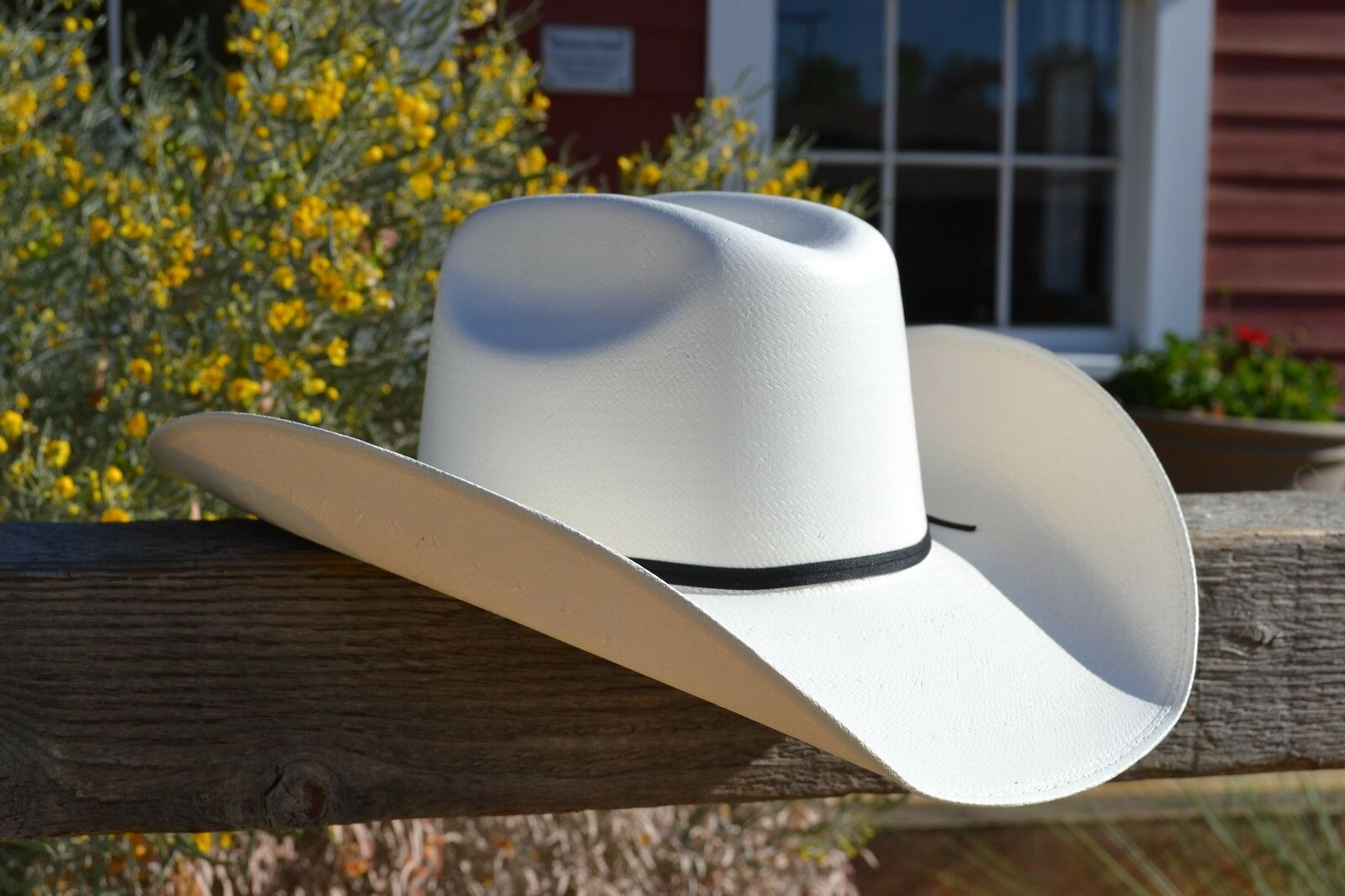 Alamo Hat Co. Shantung Dilley Weather Resistant Straw Cowboy Hat - All Sizes