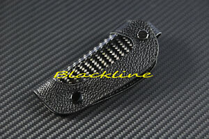 For BMW E36 E46 M3 E39 M5 E38 X5 X3 Z3 Z4 REMOTE KEY CARBON FIBER LEATHER COVER