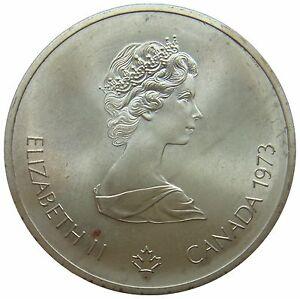 (f28) - Kanada Canada - 10 Dollars 1973 - Weltkarte Map - Unc - Km# 86