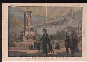Chapelle-Monument-Reconnaissance-Interalliee-a-Lourdes-France-1921-ILLUSTRATION