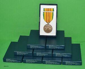 10-U-S-GI-Issue-Military-Vietnam-Service-Medal-Sets-Veterans-Dealer-Lot
