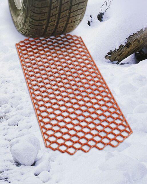 Pair Summit Snow Grabber Mat Anti-Slip Heavy Duty