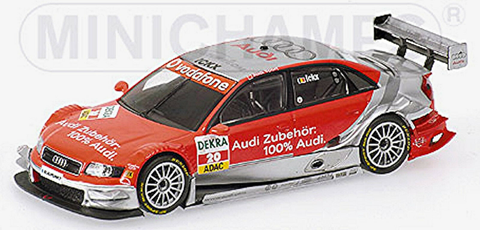 Audi a 4 DTM 2006 V. Ickx  20 Equipo Midland 100% Audi 1 43 minichamps