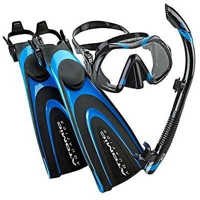 Black for sale online clear Atomic Aquatics Sv2 Flex Dive Snorkel