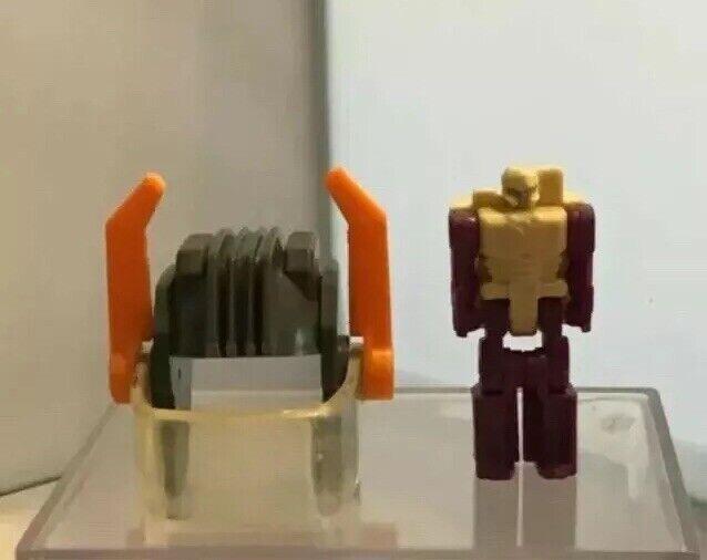 1987 - Transformers - G1 Scorponok Parts - Zarak And Helmet - ⭐️Collectable ⭐️