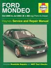 Ford Mondeo Petrol and Diesel Service and Repair Manual: 2000 to 2003 by Peter T. Gill, A. K. Legg (Paperback, 2003)