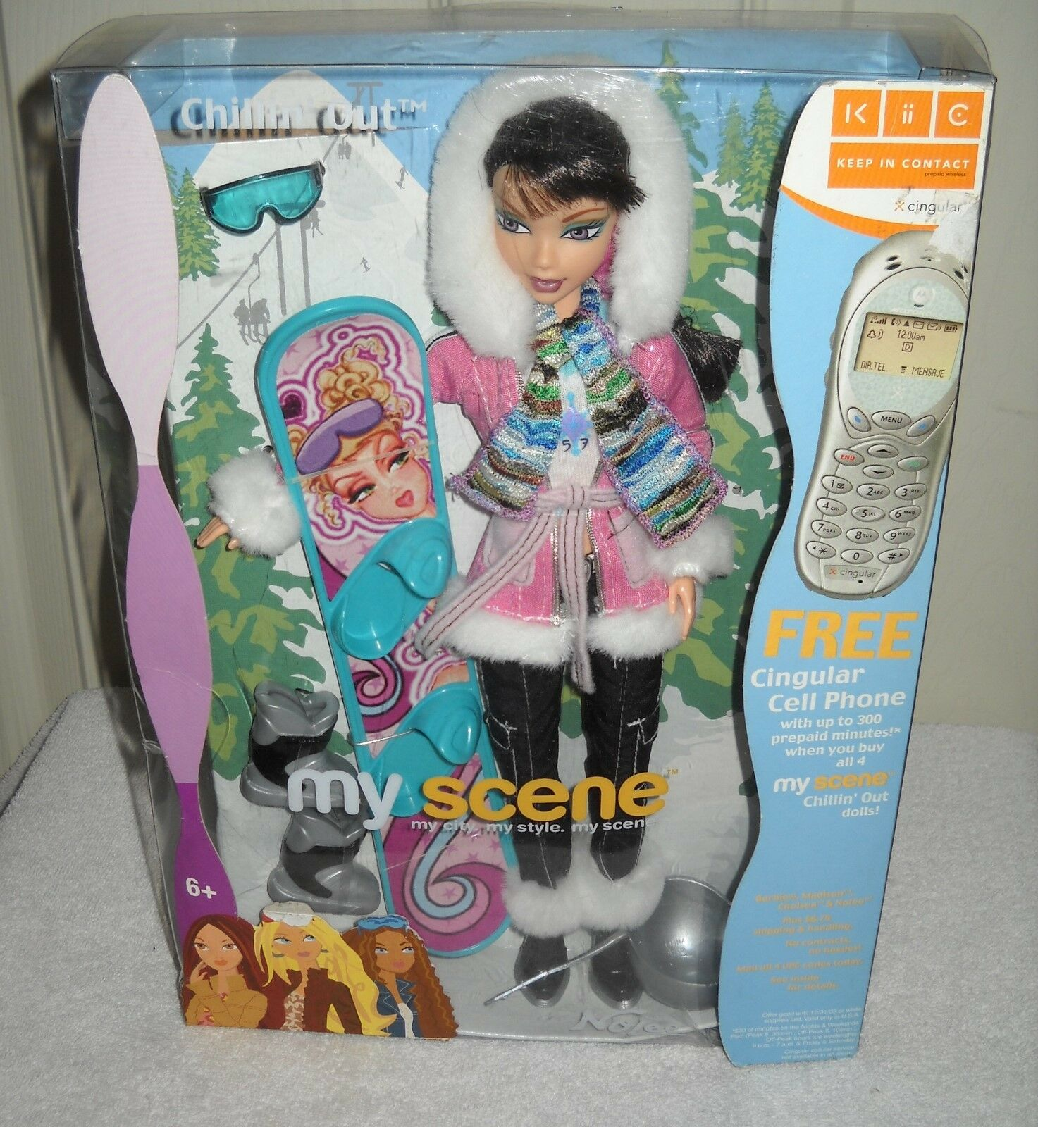 Nuevo En Caja Mattel Barbie My Scene Descanso Muñeca Barbie fuera Nolee ()