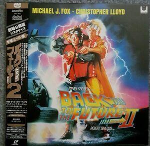 Back To The Future Part Ii 1989 Pilf 1103 Ðック Èゥ ¶ Õューチャー Part2 Laserdisc Ebay