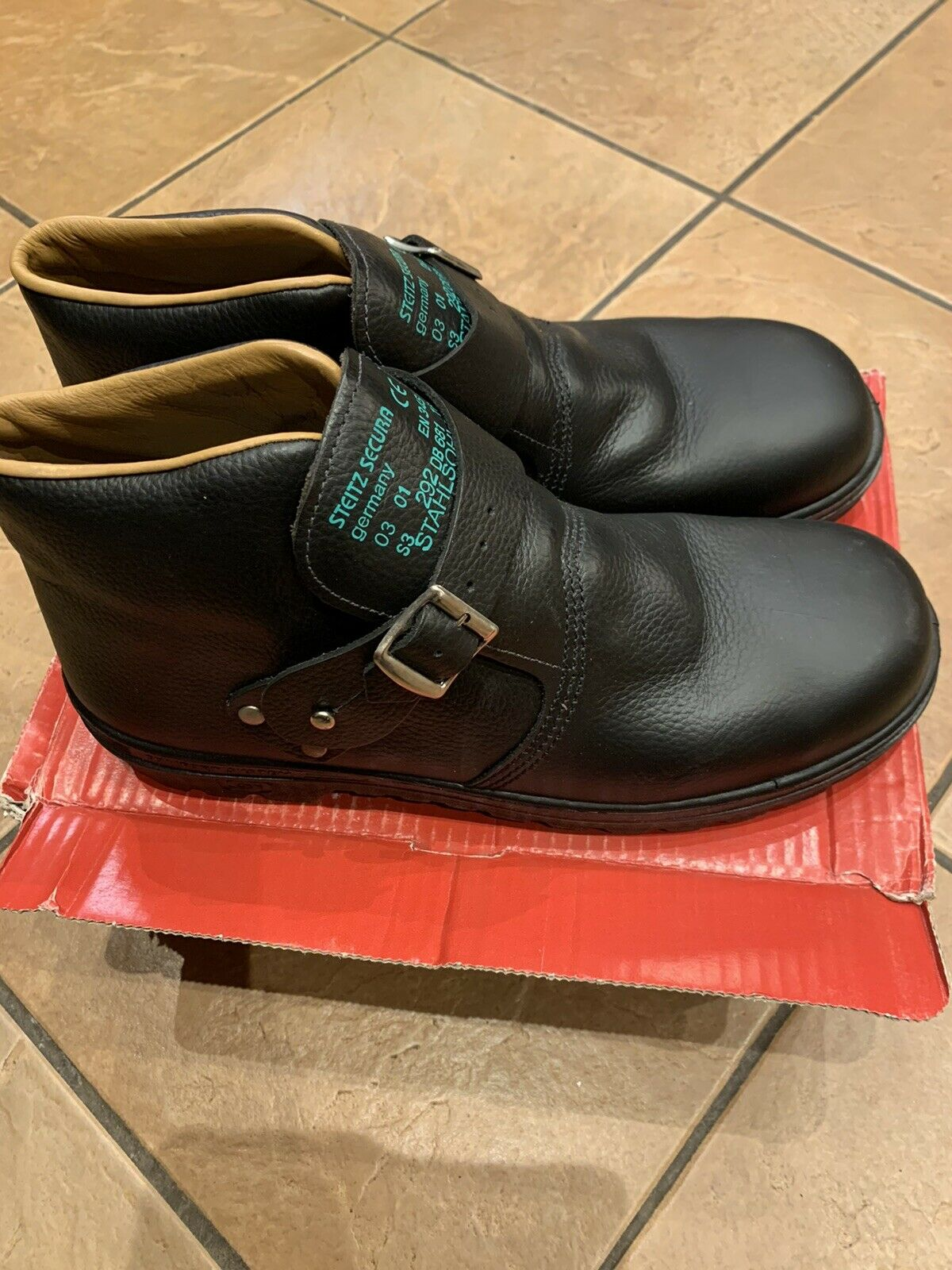Mens Work Shoes With Steel Toe Caps