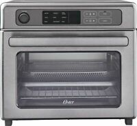 Oster RapidCrisp Stainless Steel Digital Air Fryer Oven