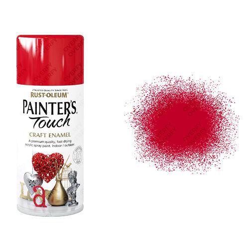 x 1 Rust-Oleum painter's Touch Craft Esmalte Pintura en aerosol rojo cereza